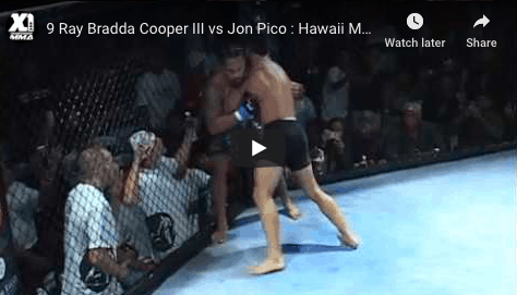 9 Ray Bradda Cooper III vs Jon Pico : Hawaii MMA