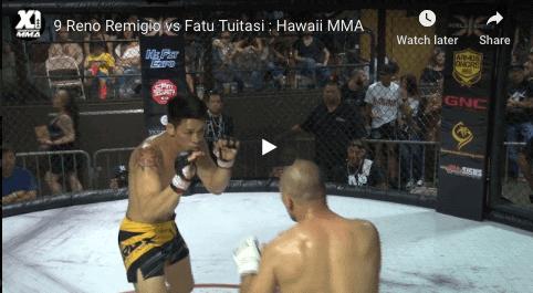 9 Reno Remigio vs Fatu Tuitasi : Hawaii MMA