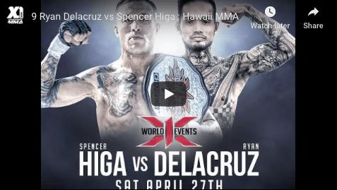 9 Ryan Delacruz vs Spencer Higa : Hawaii MMA