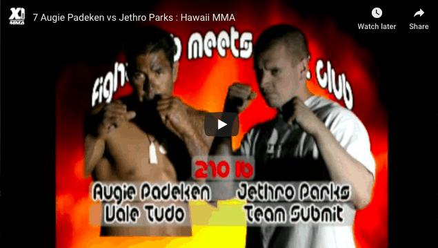 Augie Padeken vs Jethro Parks