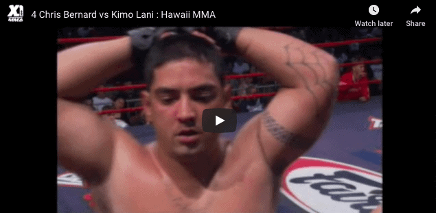 4 Chris Bernard vs Kimo Lani