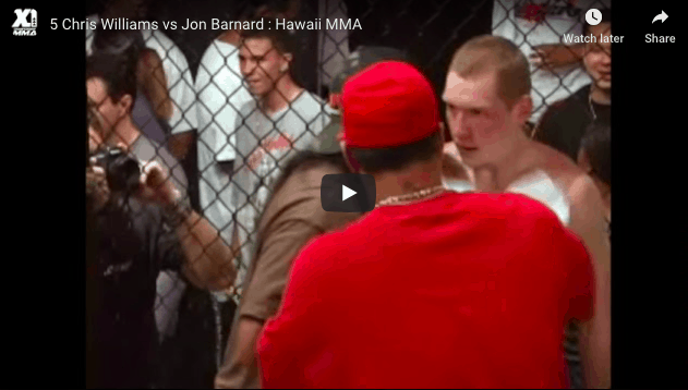 Chris Williams vs Jon Barnard