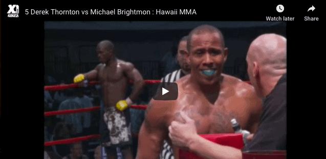 Derek Thornton vs Michael Brightmon