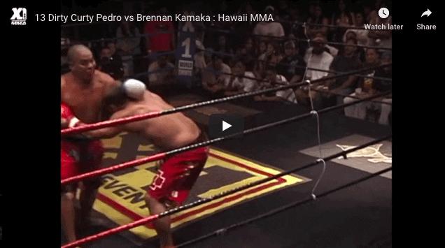Dirty Curty Pedro vs Brennan Kamaka