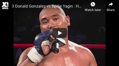Donald Gonzalez vs Eddie Yagin
