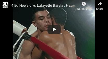 Ed Newalu vs Lafayette Barela