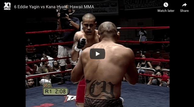 Eddie Yagin vs Kana Hyatt