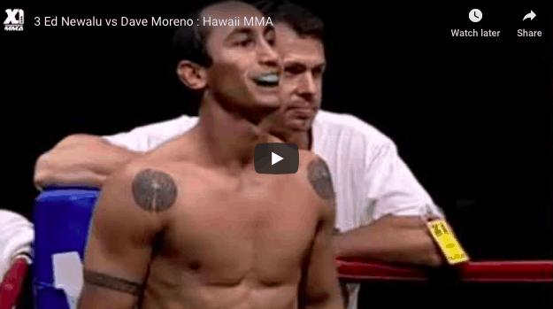 Edward Newalu vs Dave Moreno