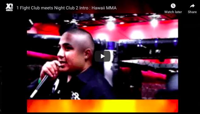 X1 Fight Club meets Night Club 2