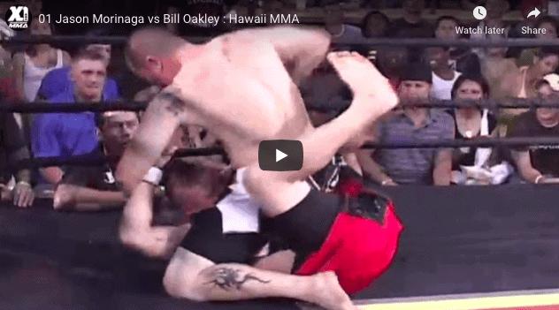 Jason Morinaga vs Bill Oakley : Hawaii MMA