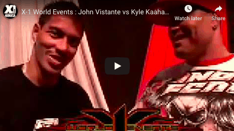 John Vistante vs Kyle Kaahanui Post Fight Interview by Big Joe