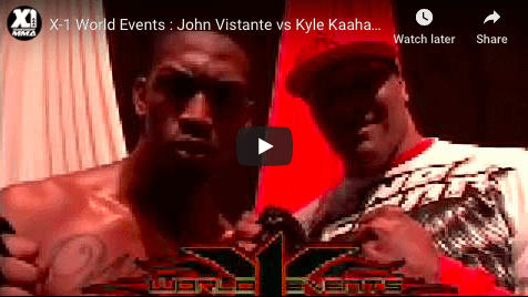 John Vistante vs Kyle Kaahanui tko rd 2 Post fight Interview with Big Joe