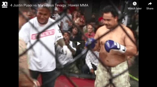 Justin Puaoi vs Marvelous Tevaga
