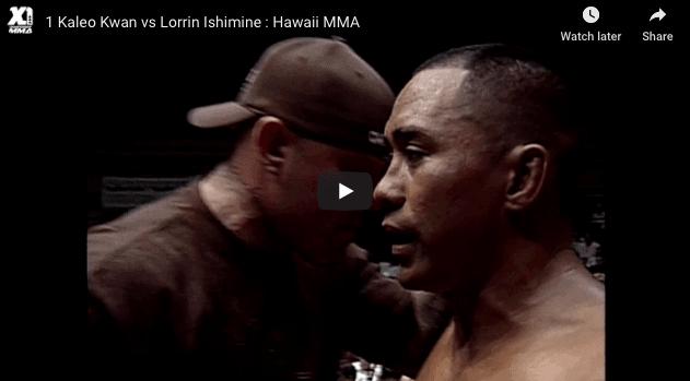 Kaleo Kwan vs Lorrin Ishimine : Hawaii MMA