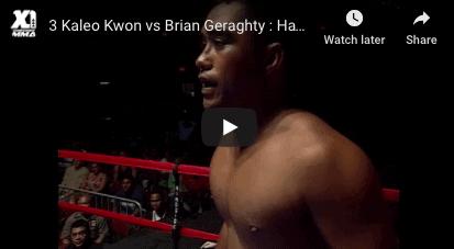 Kaleo Kwon vs Brian Geraghty