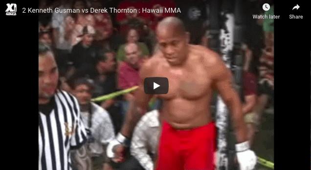 Kenneth Gusman vs Derek Thornton
