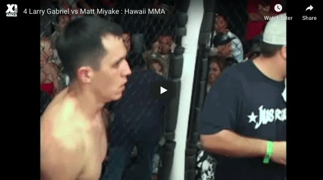 Larry Gabriel vs Matt Miyake