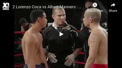 Lorenzo Coca vs Albert Manners