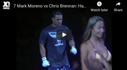 Mark Moreno vs Chris Brennan