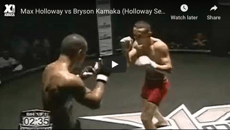 Max Holloway Early Fights Hawaii MMA