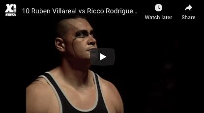 Ruben Villareal vs Ricco Rodriguez