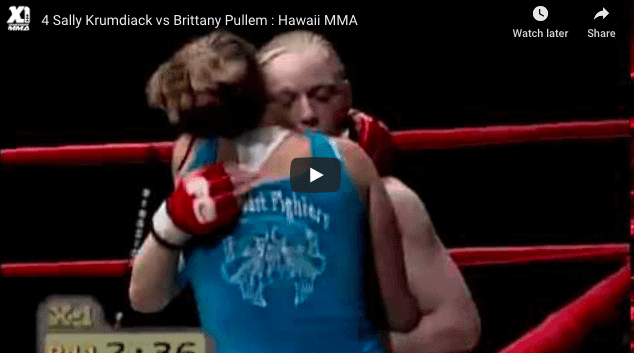 Sally Krumdiack vs Brittany Pullem