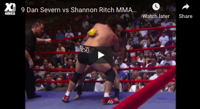 Dan Severn vs Shannon Ritch