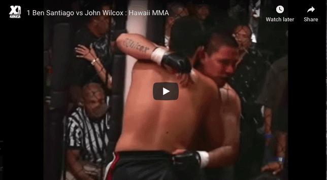 Ben Santiago vs John Wilcox