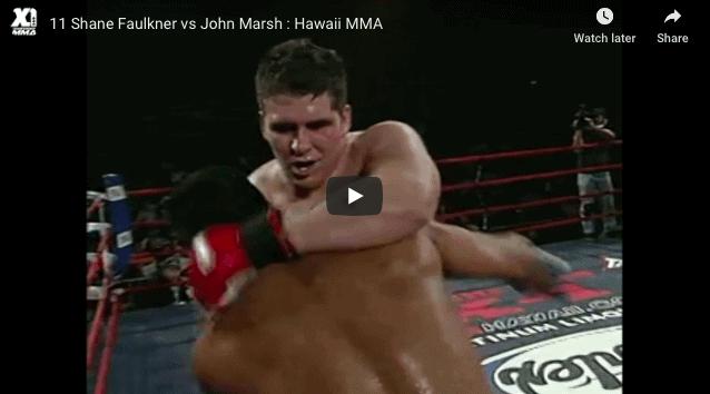 Shane Faulkner vs John Marsh