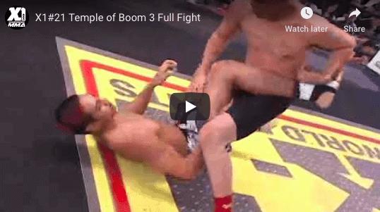 Temple of Boom Hawaii MMA X1 21