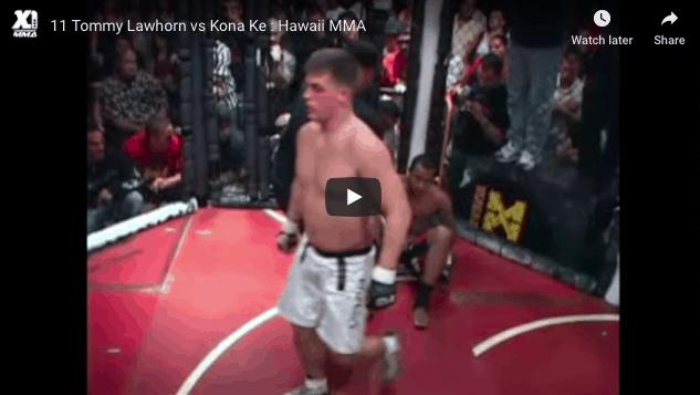 Tommy Lawhorn vs Kona Ke HAWAII MMA