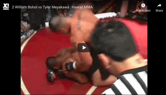 William Bohol vs Tyler Meyakawa