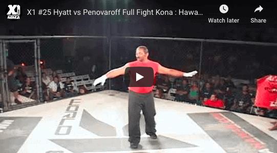 X1 #25 Hyatt vs Penovaroff Full Fight Kona Hawaii MMA