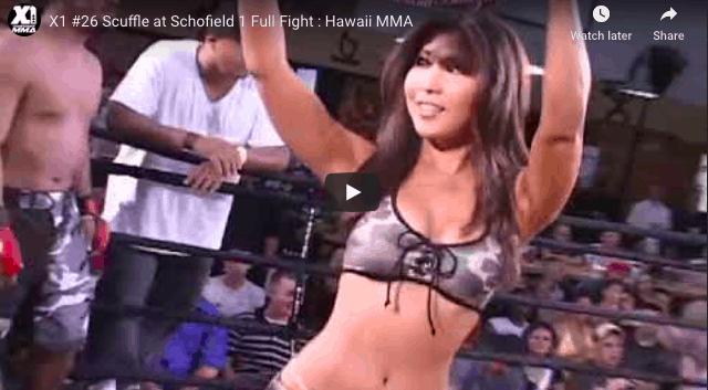 X1 #26 Scuffle at Schofield 1 Full Fight : Hawaii MMA