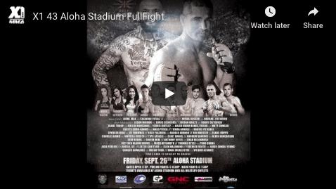 X1 43 Aloha Stadium FullFight