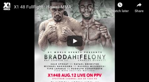 X1 48 FullFight : Hawaii MMA