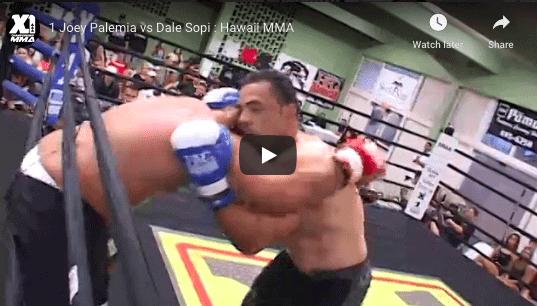 1 Joey Palemia vs Dale Sopi : Hawaii MMA