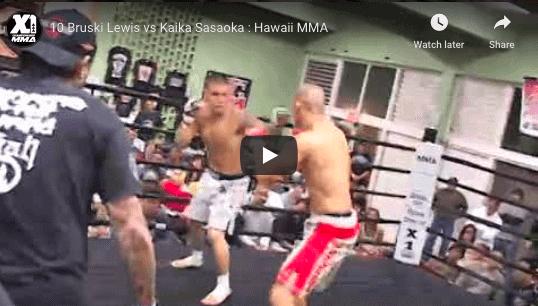 10 Bruski Lewis vs Kaika Sasaoka : Hawaii MMA