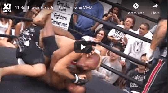 11 Brad Tavares vs Jon Joao : Hawaii MMA