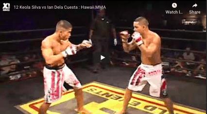 12 Keola Silva vs Ian Dela Cuesta : Hawaii MMA