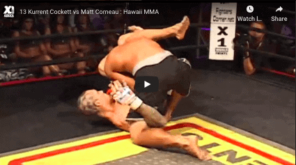 13 Kurrent Cockett vs Matt Comeau : Hawaii MMA