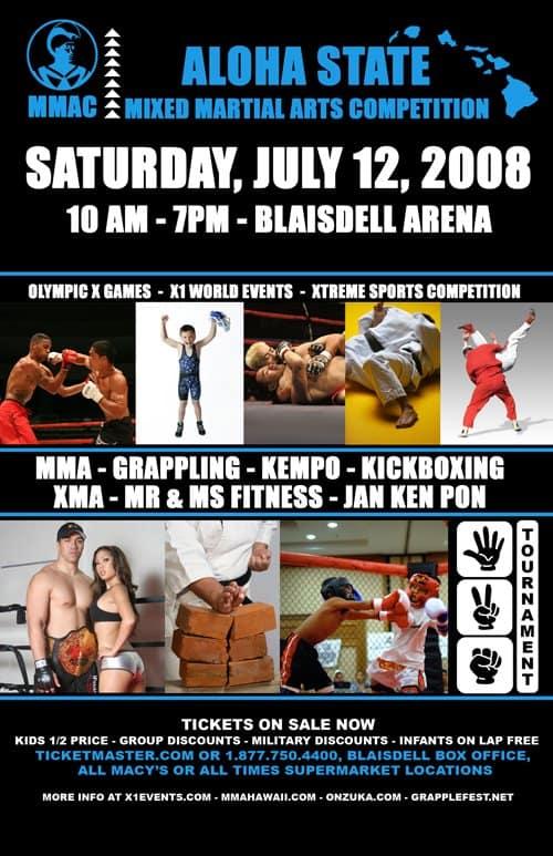 X1#16: MMAC (Jul 12,2008) Fight Results