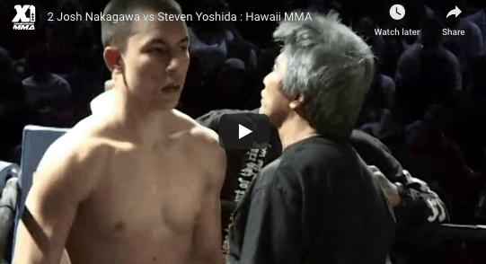 2 Josh Nakagawa vs Steven Yoshida Hawaii MMA