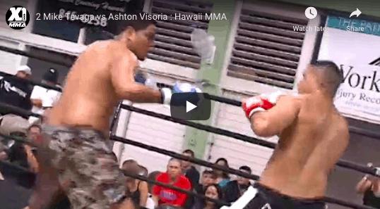 2 Mike Tevaga vs Ashton Visoria : Hawaii MMA