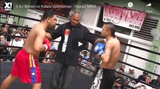 3 AJ Brown vs Kalani Saloricman : Hawaii MMA