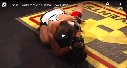 3 Raquel Pa'aluhi vs Monica Franco : Hawaii MMA