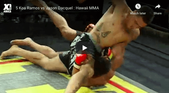 5 Koa Ramos vs Jason Dacquel : Hawaii MMA