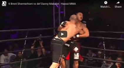 6 Brent Shermerhorn vs def Danny Mabalot : Hawaii MMA