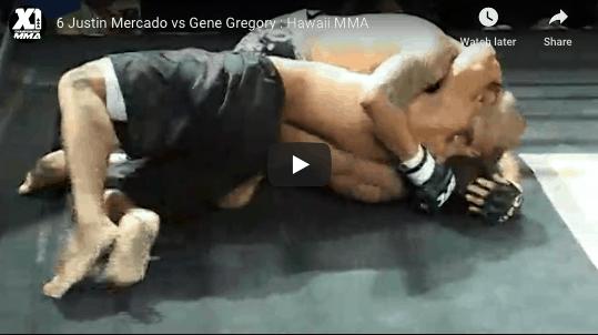 6 Justin Mercado vs Gene Gregory : Hawaii MMA