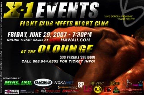X1#7 - Fight Club meets Night Club 1